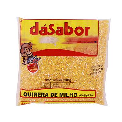 Quirera de Milho pacote 500g DáSabor PCT