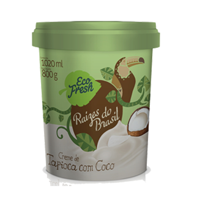 Raizes do Brasil tapioca com coco 1kg Eco Fresh  UN