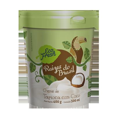 Raizes do Brasil tapioca com coco 500g Eco Fresh  UN
