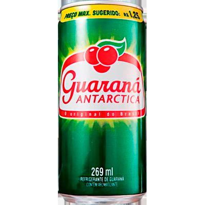 Refrigerante Guaraná Antarctica lata 269ml Antarctica UN