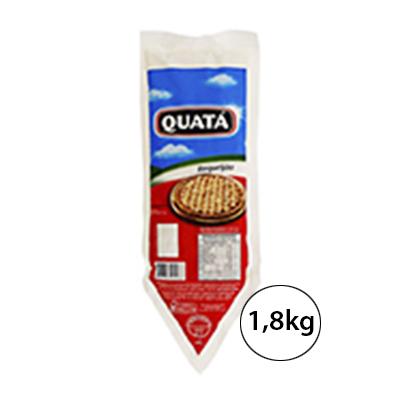 Requeijão cremoso 1,8kg Quatá bisnaga BIS