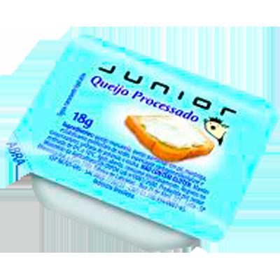 Requeijão cremoso unidades de 18g Junior blisters UN