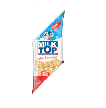 Requeijão cremoso com amido bisnaga 1,8kg Milk Top BIS