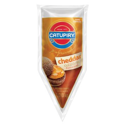 Requeijão cremoso sabor cheddar bisnaga 1,01kg Catupiry BIS