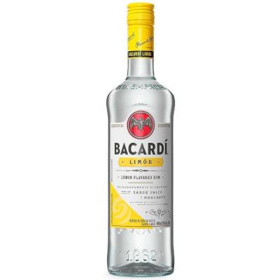 Rum Limão 980ml Bacardi garrafa UN