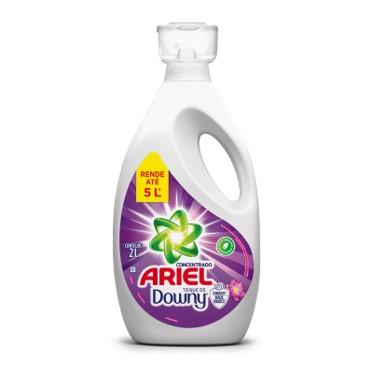 Sabão líquido concentrado toque de downy frasco 2Litros Ariel FR