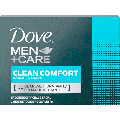 Sabonete em barra clean comfort 90g Dove Men  UN