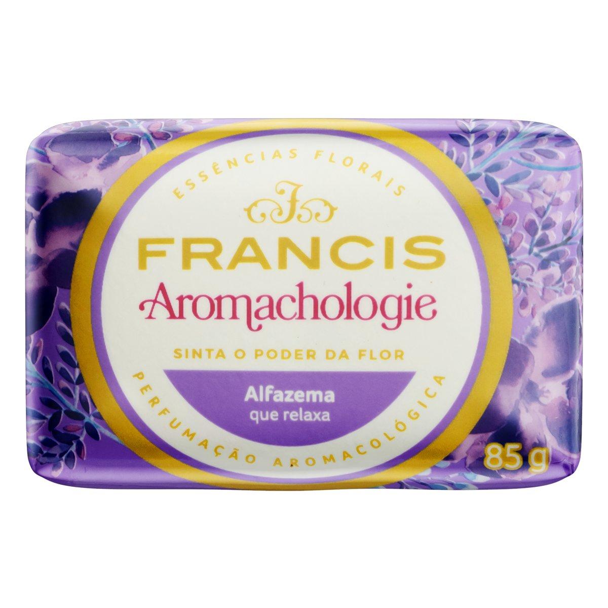Sabonete em barra lilás 85g Francis  UN