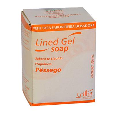 Sabonete líquido pêssego 800ml Trilha Baby  UN