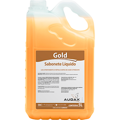 Sabonete líquido pêssego 5Litros Audax galão GL