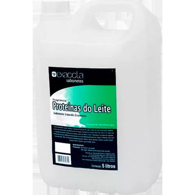Sabonete líquido proteína do leite galão 5Litros Exaccta GL