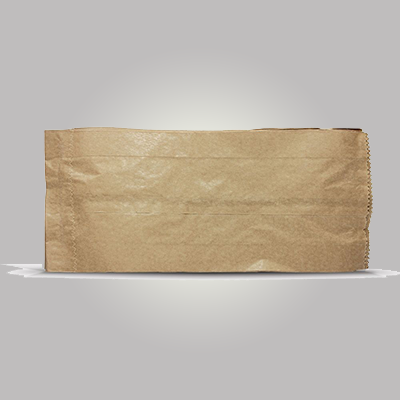 Saco de papel B kraft mix 1 kg Borim pacote UN