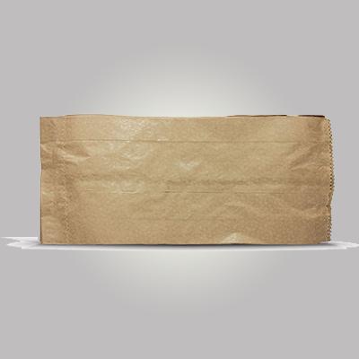 Saco de papel B kraft mix 3kg Borim pacote UN