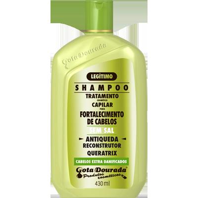 Shampoo antiqueda 430ml Gota Dourada UN