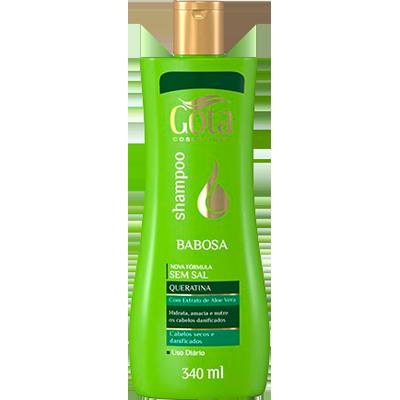 Shampoo babosa 340ml Gota Dourada  UN