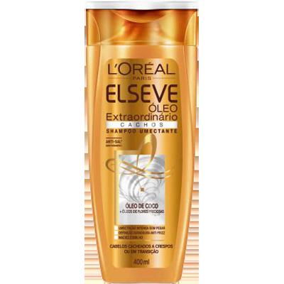 Shampoo cachos 400ml Elseve/Óleo Extraordinário UN
