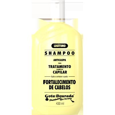 Shampoo fortalecimento 430ml Gota Dourada UN