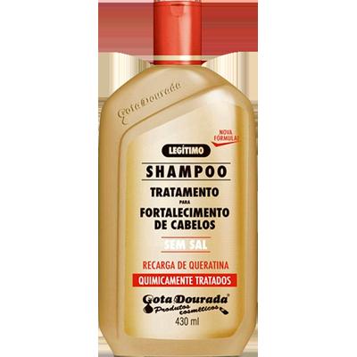 Shampoo químicamente tratados 430ml Gota Dourada  UN
