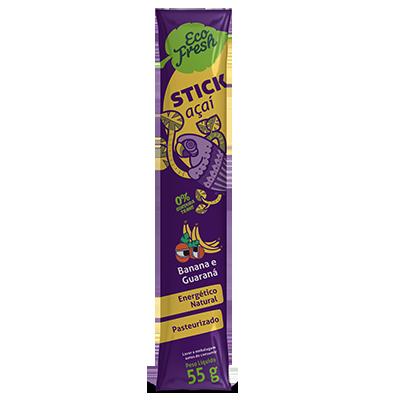 Sticks sabor banana 55g 55g Eco Fresh UN