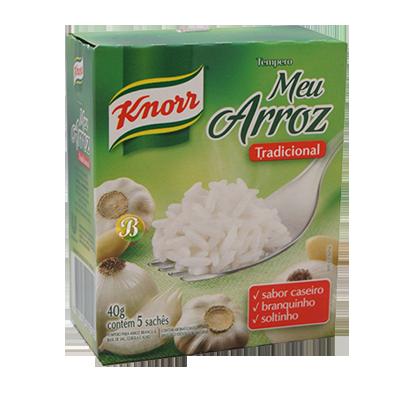 Tempero para arroz 40g Knorr/Meu Arroz caixa UN