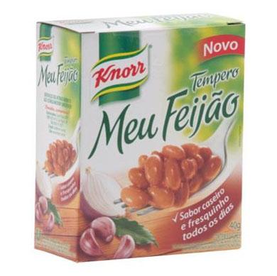 Tempero para feijão 40g Knorr/Meu Feijão caixa UN