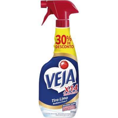 Tira limo 30% desconto spray 500ml Veja X-14 UN