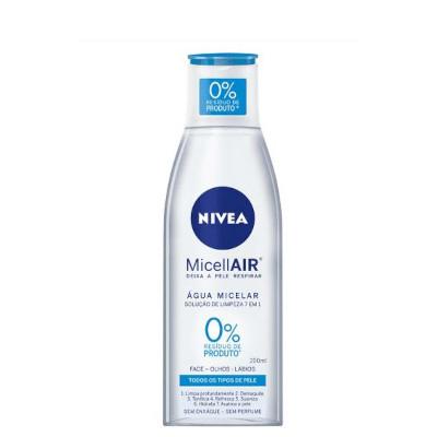 Tônico Facial demaquilante água micelar efeito matte 200ml Nivea frasco UN