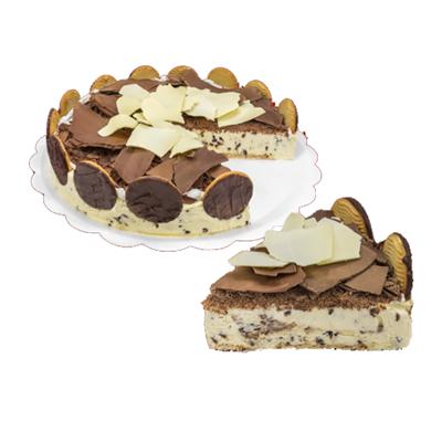 Torta de flocos 6 fatias 500g Empório das tortas  UN