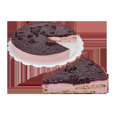 Torta de framboesa 14 fatias 1,5kg Empório das tortas  UN