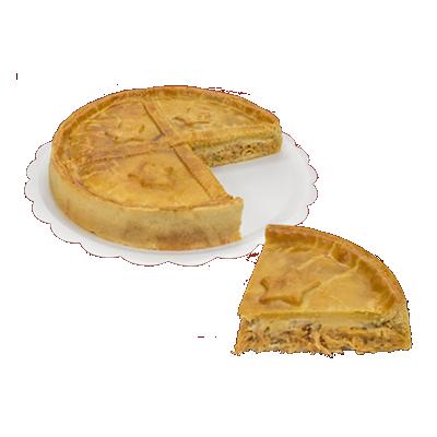 Torta de frango com catupiry 10 fatias 1,7kg Empório das tortas UN