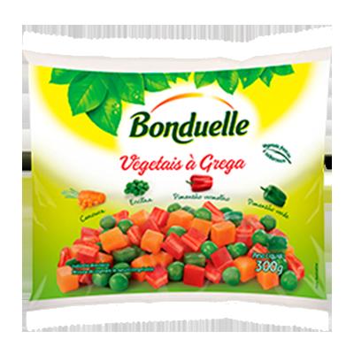 Vegetais a Grega congelado pacote 300g Bonduelle UN