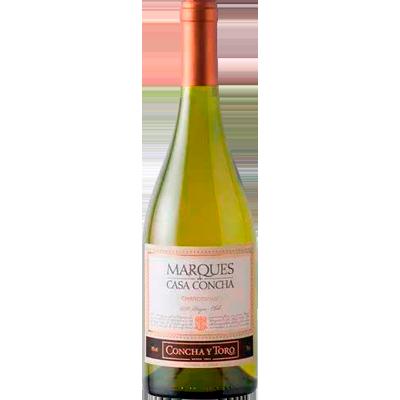Vinho branco Chileno Chardonnay garrafa 750ml Marques de Casa Concha UN