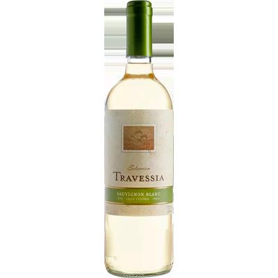 Vinho branco Chileno Sauvignon Blanc 750ml Travessia garrafa UN