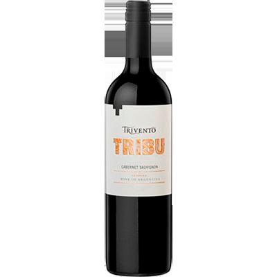 Vinho tinto Argentino Cabernet Sauvignon 750ml Trivento Tribu garrafa UN