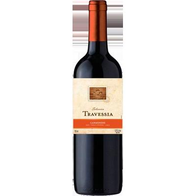 Vinho tinto Chileno Carménère 750ml Travessia garrafa UN