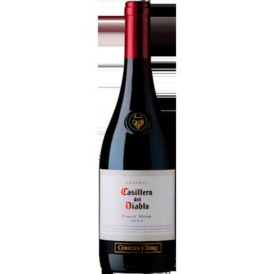 Vinho tinto Chileno Pinot Noir 750ml Casillero del Diablo garrafa UN