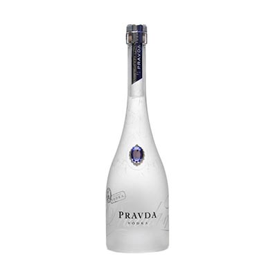 Vodka  750ml Pravda garrafa UN