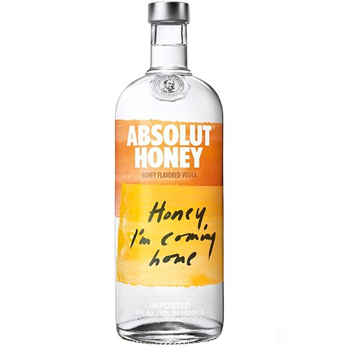 Vodka Honey de 900ml a 1Litro Absolut garrafa UN