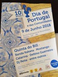 Comemorações do Dia de Portugal em Maputo