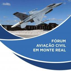 Aeroporto em Monte Real