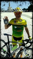 Carlos Vieira partiu para mais uma aventura em bicicleta...