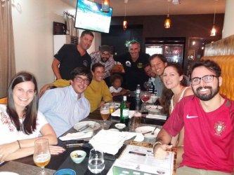 Leirienses apoiaram a Seleção Nacional a partir de Luanda