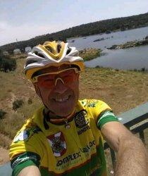 Carlos Vieira esteve junto ao Rio Tejo (em solo espanhol)