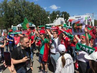 Portugueses invadem Moscovo