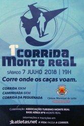 Corrida na Base Aérea n°5 em Monte Real