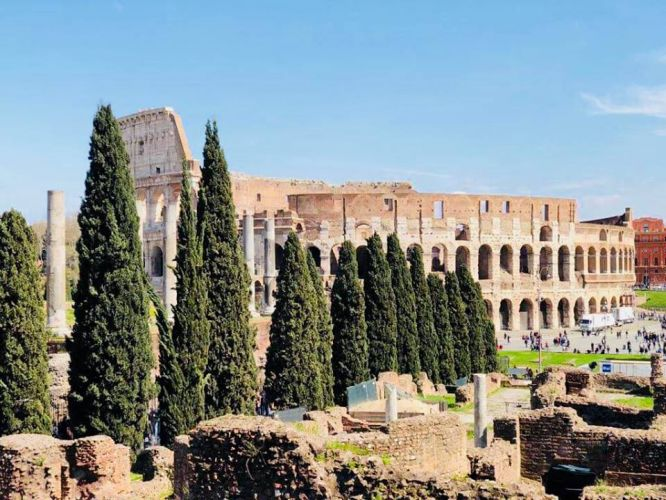 Roma por mais um dia