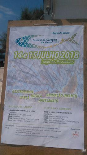 3° Festival do Carapau da Vieira