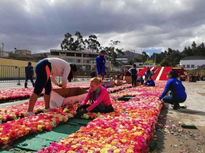 Equador busca quebrar recorde do Guinness