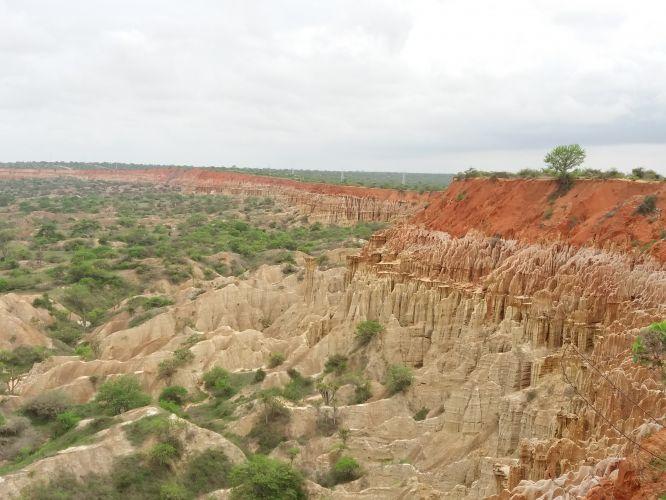 Miradouro da Lua é visita obrigatória em Angola
