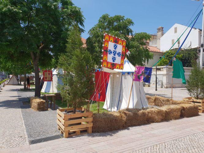 Feira Medieval de Leiria recria momentos históricos em toda a cidade